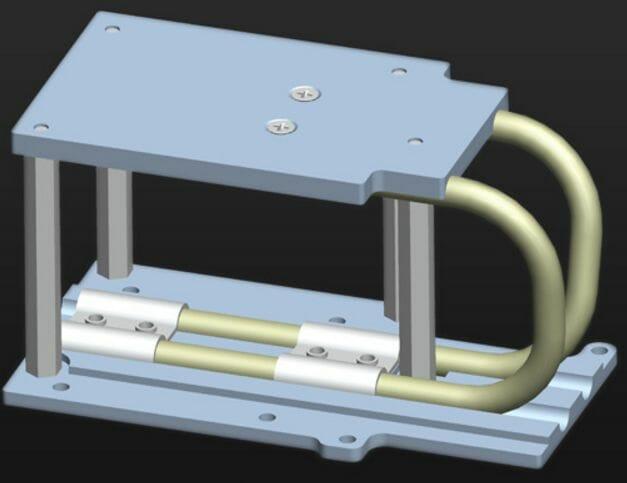 Figure 2: Heat Pipe Heat Sink