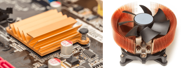 Difference between passive and active heat sink